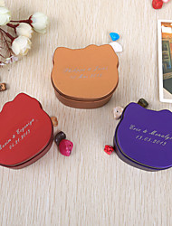 12 Piece/Set Favor Holder Metal Favor Tins and Pails/Favor Boxes Personalized