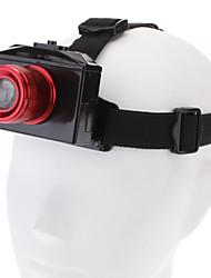 YM 0217 Cree XR-E Q5 3-Mode Gelbe LED Diving Scheinwerfer (Akku, Red)