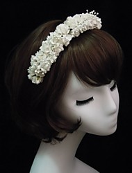Fashion Paper With Flower Women's Headbands