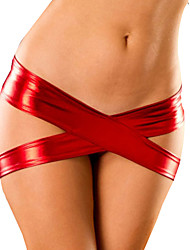Red Sizzling Crossed Metallic Panty (Anca :90-104cm Lunghezza: 105cm)