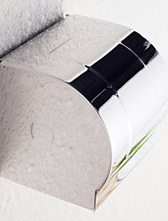 "WC-Rollenhalter Edelstahl Wandmontage 120 x 123 x 125mm (4.7 x 4.8 x 5"") Edelstahl Modern"