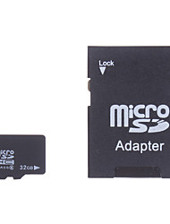 32gb klass 6 microSDHC tf minneskort och SDHC-adapter