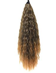 """22 """"Clip em extensões do cabelo Flick Termina Brown cavalo"""