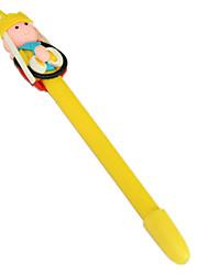 Moine Tang Figure Polymer Clay Pen (couleur aléatoire)