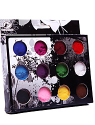 12PCS Velvet Nail Art Decorations