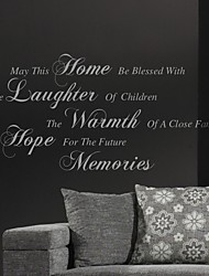 May This Home Wall Sticker