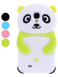 3D Design Panda Pattern Soft Case for Samsung Galaxy S4 I9500