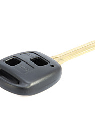 2-Button Remote Key Casing for Toyota Prado
