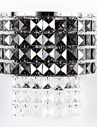 Crystal / LED / Bulb Included Flush Mount wall Lights,Modern/Contemporary LED Integrated Crystal