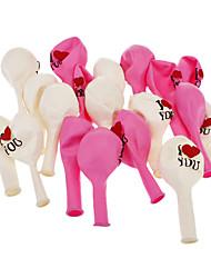 10pcs TI AMO modello Candy colore Balloon