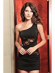 sexy eine Schulter Spitzenkleid (bust :86-102waist :58-79hips :90-104length: 70cm)