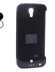Power Akku zurück Fall für Samsung Galaxy S4 i9500 (3800mAh)