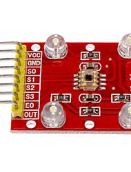 Цвет модуль распознавания TCS3200 датчик цвета, цвет модуля