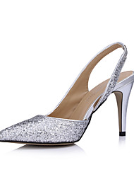 Elegante funkelnde Glitter Stiletto Pumps Party / Abendschuhe