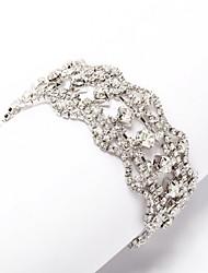 Oro 18 carati placcato con grazioso bracciale di cristallo colori più