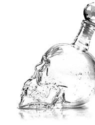 Crystal Skull Shot Glass Bottle