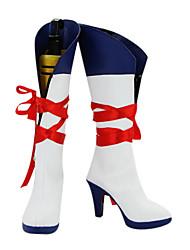 parque de diversões kagamine botas cosplay rin