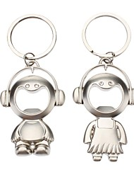 COUPLE'S Keychain and Bottle Opener (2-Pack)