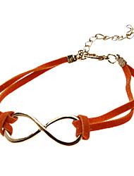 Кожаный шнур создание восьми браслетов