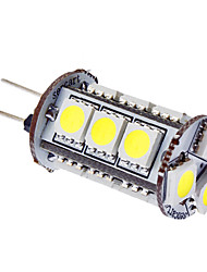 Ampoule Maïs Blanc Naturel G4 3 W 15 SMD 5050 180 LM 6000K K DC 12 V