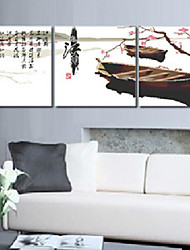 algodão inacabado diy meian lembrar jiangnan 11CT / polegada ponto-conjunto de 3 bordado tamanho pano: 51 * 51 centímetros * 3