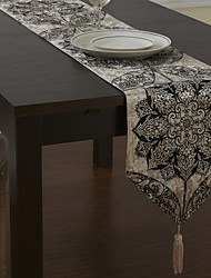 Traditional European Floral Table Runners