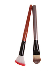 Cosmetic Brush Set Blush Brush*1 and Powder Brush*1