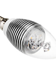 E14 3W 240LM 3500K Warm White Led Candle Bulb(110-220V)
