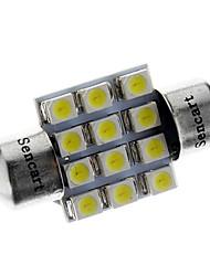 Guirlande Automatique Blanc 1W SMD 3528 6000-6500 Lampe de lecture