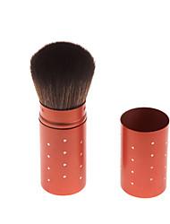 Tube Blush Brush Dim Red & White Dots