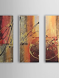 Hand Painted Oil Painting Abstract Set of 3 1307-AB0503