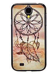 Light Feather Pattern Hard Case für Samsung Galaxy i9500 S4