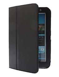 pour Samsung Asus Dell Couleur Pleine Cuir PU Matériel