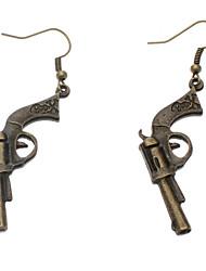 Vintage Gun Earring