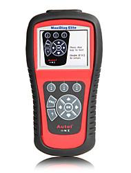 autel® MaxiDiag code de voiture de md802 élite outil d'analyse pour tous les systèmes avec le modèle ds OBD