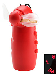 Texto personalizable Pantalla LED Fan Cooling Mini (3xAA)