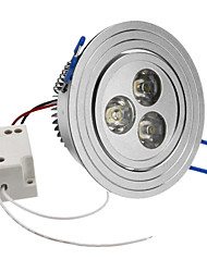 3W 240-270LM 6000-6500K Natural White Light LED Ceiling Bulb (85-265V)