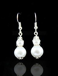 Charming Alloy Pearl Earrings