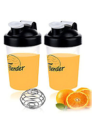 Plastic Shaker Bottle Blender Bottle with Stainless Mixer