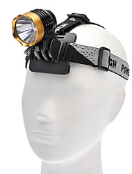 Lampes Torches LED / Lampes frontales LED 3 Mode 1000 Lumens Rechargeable / Tactique / diri Cree XM-L T6 18650