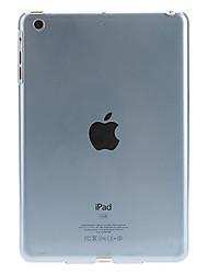 Transparent Ultradünne Solid Color Hard Case für iPad mini (blau)