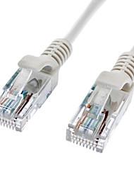 Cat 5e mâle à mâle câble réseau Grey (2M)
