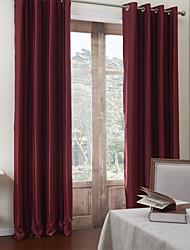 (One Panel) Contemporary Stripes Room Darkening Curtain