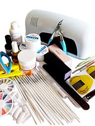 40PCS Nail Art Kits de manicura