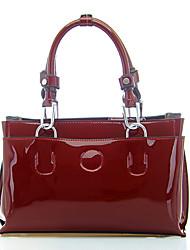 BINITU Wine PU  Shoulder Bag/Tote