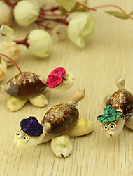 Wedding Décor Cute Seashell Turtle  Decoration - Set of 6 (Mixed Colors)
