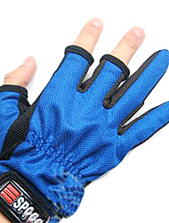 Random Color Two-Finger Fishing Anti-Slip Gloves