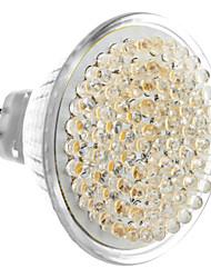 GU5.3 5W 81-LED 400-450LM 3000-3500K Warm White LED Light Bulb Pontual (12V)
