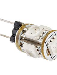 5x5050SMD 65-75LM Red Light Ampoule de maïs LED 1W G4 (12V)