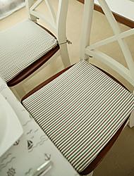 Stoff-Streifen-Entwurf Sitzstuhl Pads